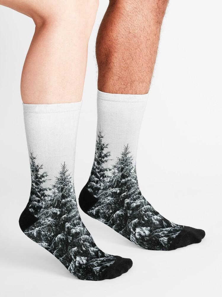 Alternate view of The White Bunch Socks