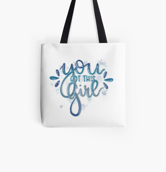 you got this girl Allover-Print Tote Bag