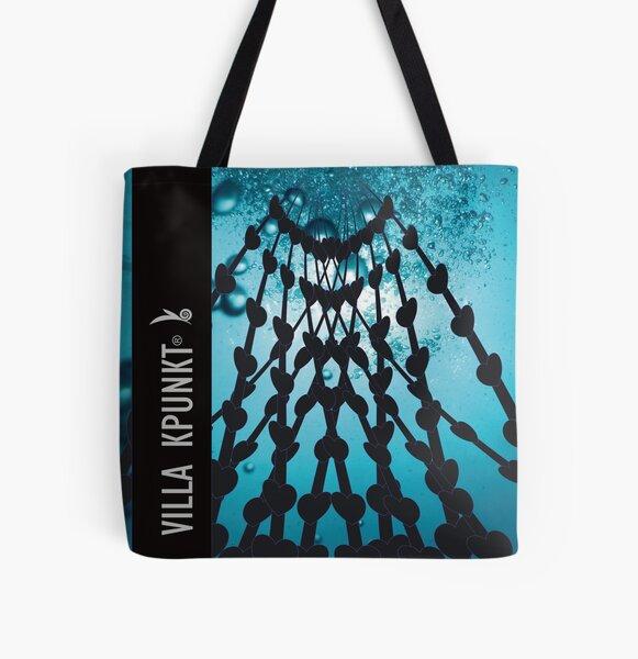 Netz der Liebe  Allover-Print Tote Bag