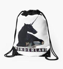 WONDERLAND Drawstring Bag