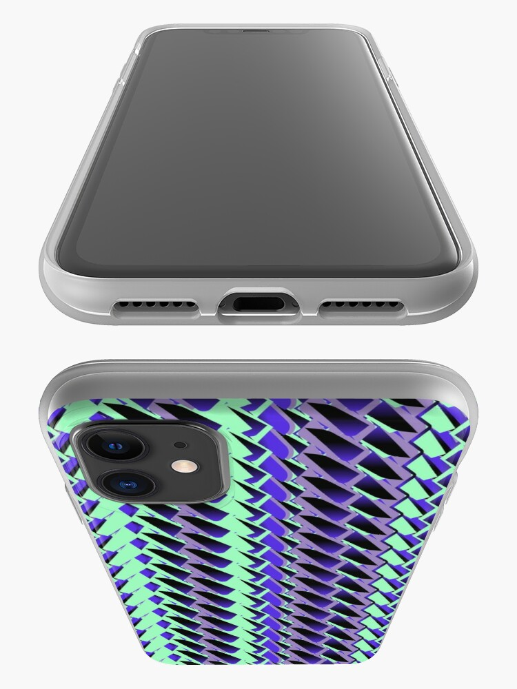 Alternate view of Jokerneon S-type Blade Stripe Seamless Pattern iPhone Case & Cover