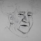 Ben Gurion by Dan Algina