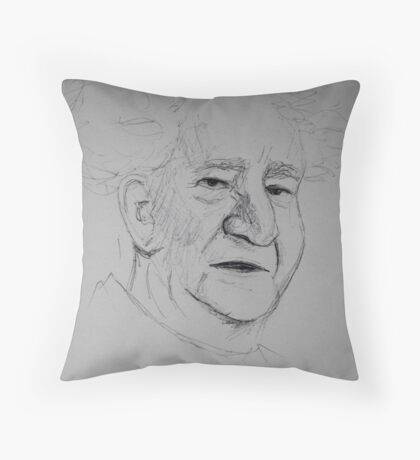 Ben Gurion Throw Pillow