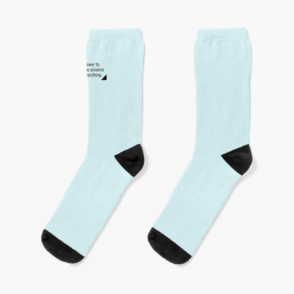 42 - the answer to life, the universe and everything Socks