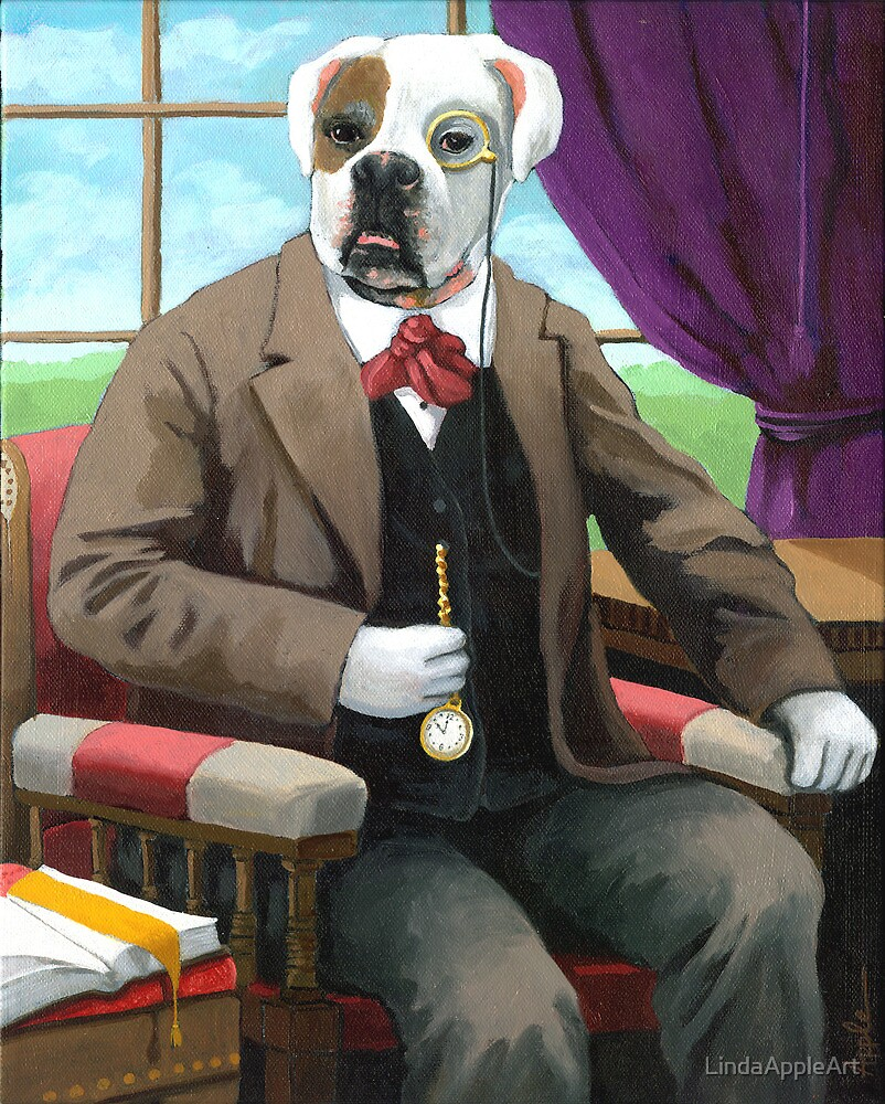 Sweet Pete - Fantasy oil painting by LindaAppleArt