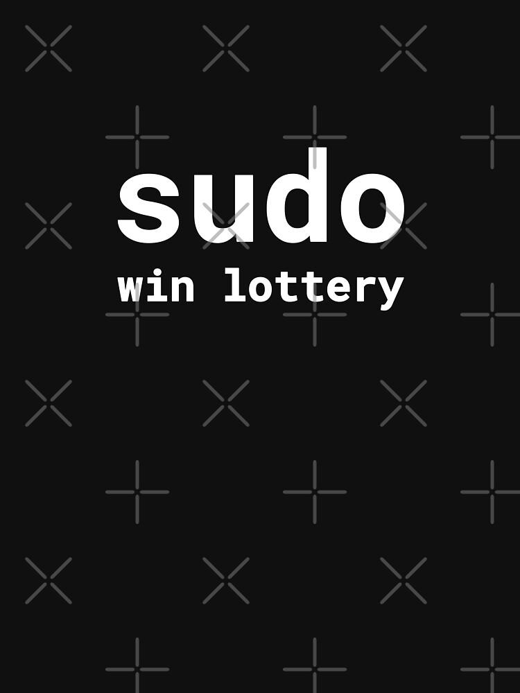 Sudo win lottery by developer-gifts