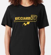 Daniel Ricciardo F1 Renault Slim Fit T-Shirt