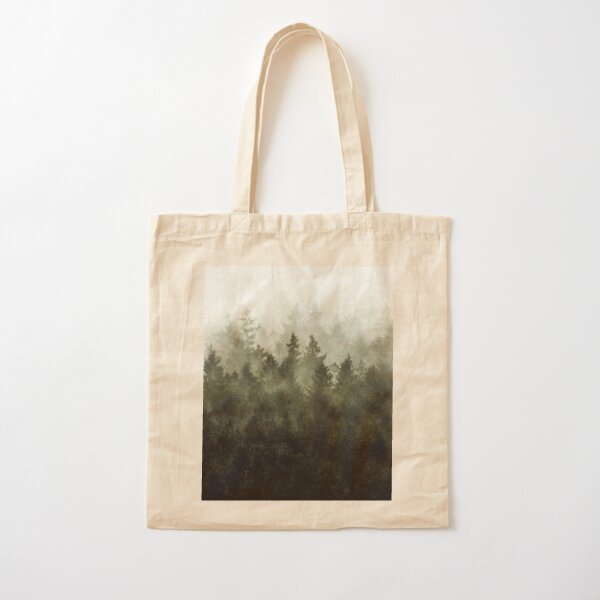 The Heart Of My Heart // Green Mountain Edit Cotton Tote Bag