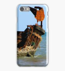 Wreck of the Carpentaria Light Ship #1 iPhone Case/Skin