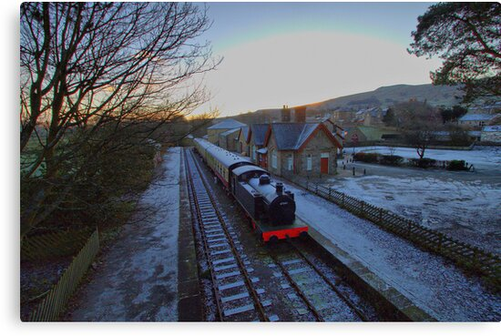 The Train is in the Station.  by Irene  Burdell