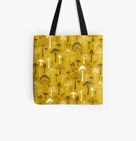 Flute bag mushrooms yellow