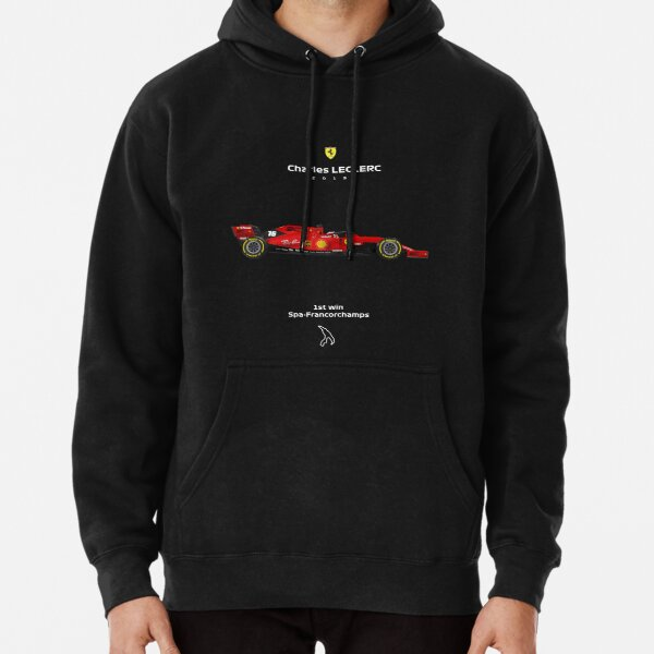 Charles Leclerc 1st win Pullover Hoodie