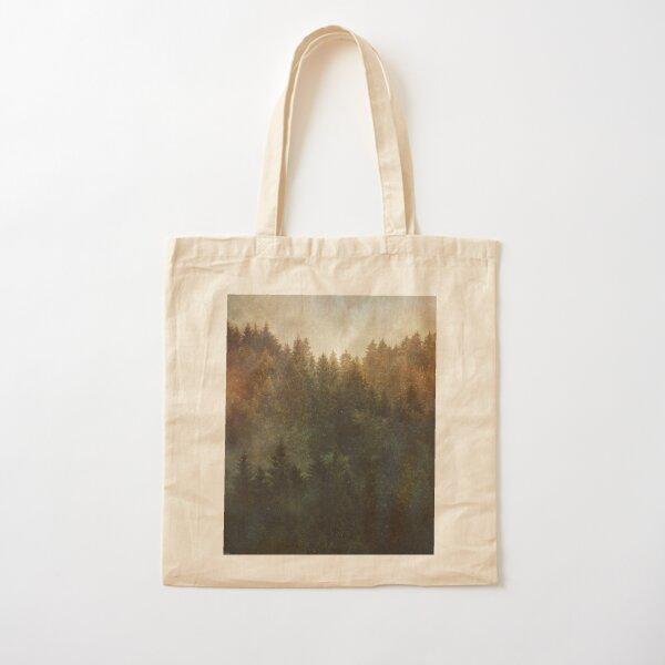 Asleep Cotton Tote Bag