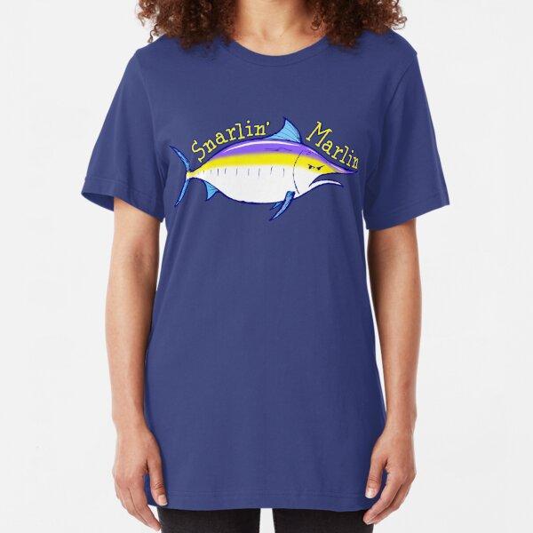 Snarlin' Marlin Slim Fit T-Shirt