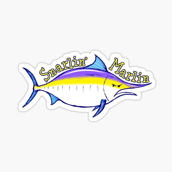 Snarlin' Marlin Sticker