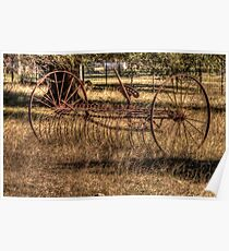 Antiquated Yard Art Poster