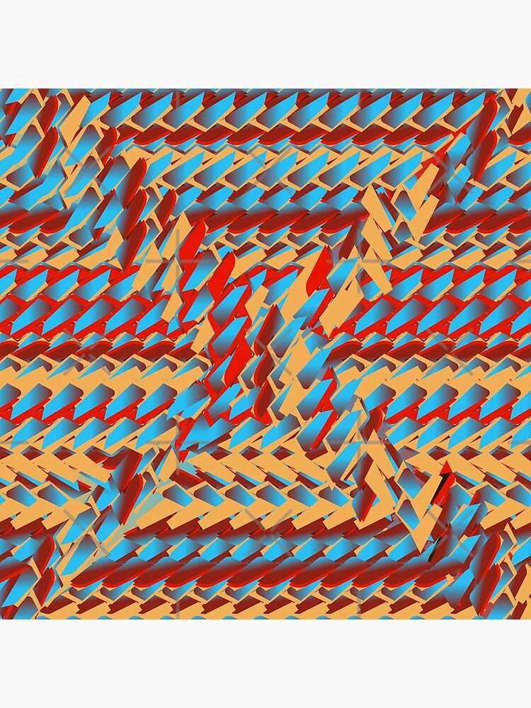 Sunblaze S-type Blade Distort Seamless Pattern by uniiunMB