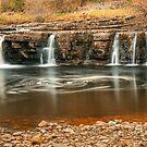 East Gill Force, Swaledale by RamblingTog