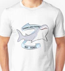 Sharks Are Friends - Not Fiends T-Shirt