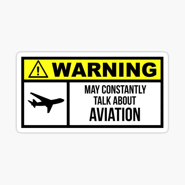 Aviation Sticker