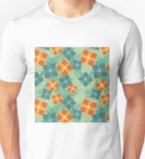 Squared Flowers Unisex T-Shirt