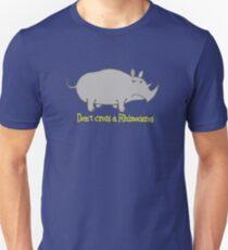 Don't cross a Rhinoceros Slim Fit T-Shirt