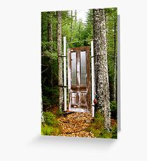 A Door to... Greeting Card