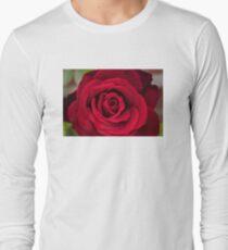 Rosey Red Long Sleeve T-Shirt