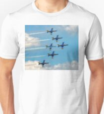 The Breitling Jets in Delta Formation Unisex T-Shirt