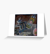 MadChester Inky Chick Greeting Card