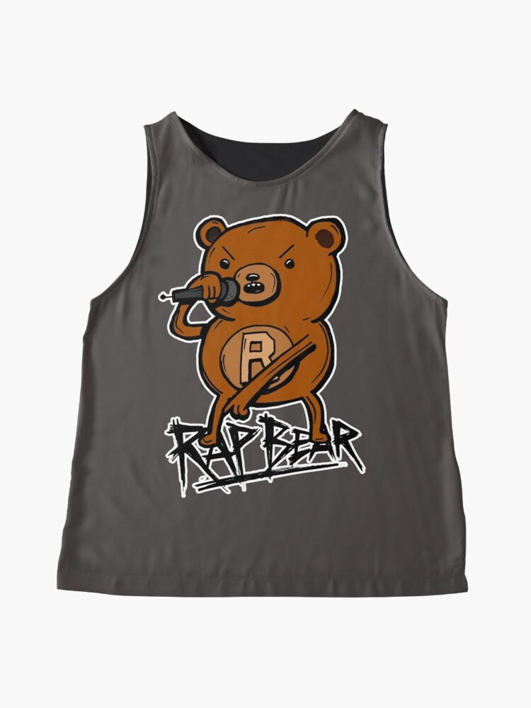 Alternate view of Rap Bear from Adventure Time Sleeveless Top