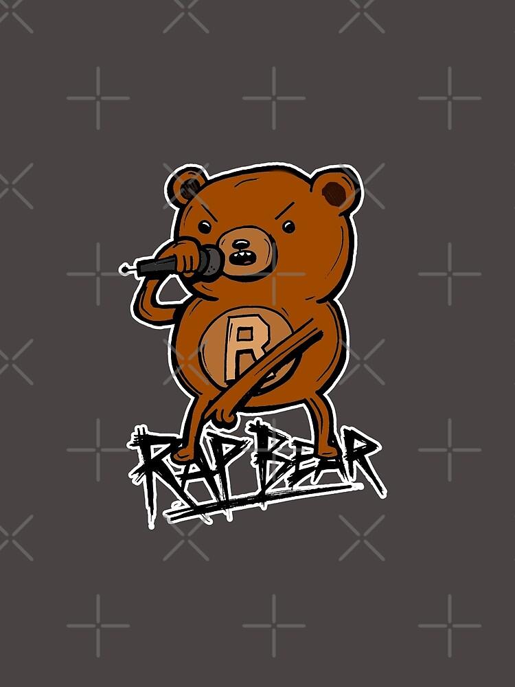 Rap Bear from Adventure Time by sketchNkustom