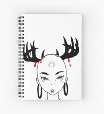 Horn(y) Spiral Notebook