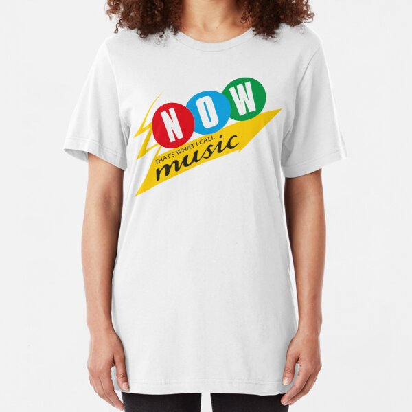 NDVH Now That's What I Call Music Slim Fit T-Shirt