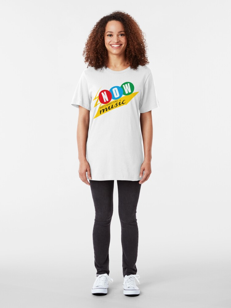 Alternate view of NDVH Now That's What I Call Music Slim Fit T-Shirt