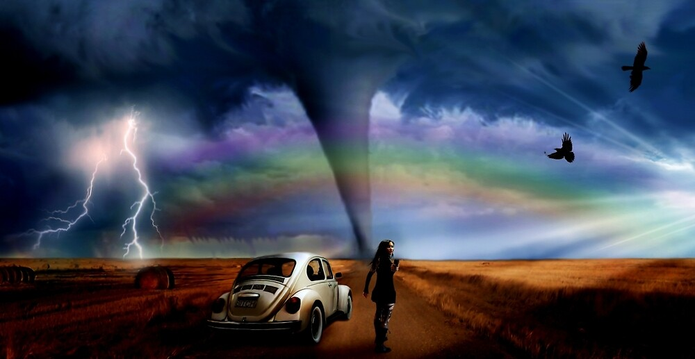 Somewhere Over The Rainbow... by Cliff Vestergaard
