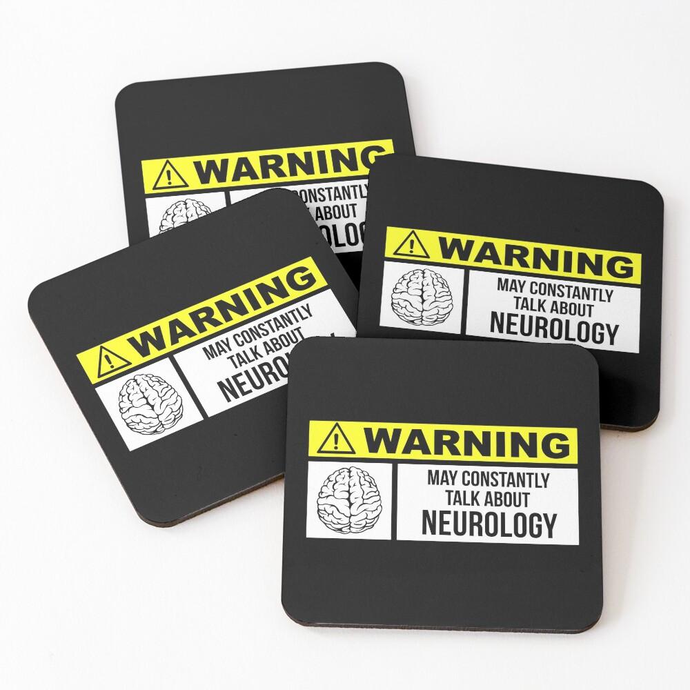 Neurology Coasters (Set of 4)