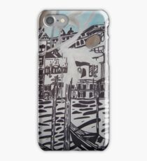 Still life gondalas in Venice iPhone Case/Skin