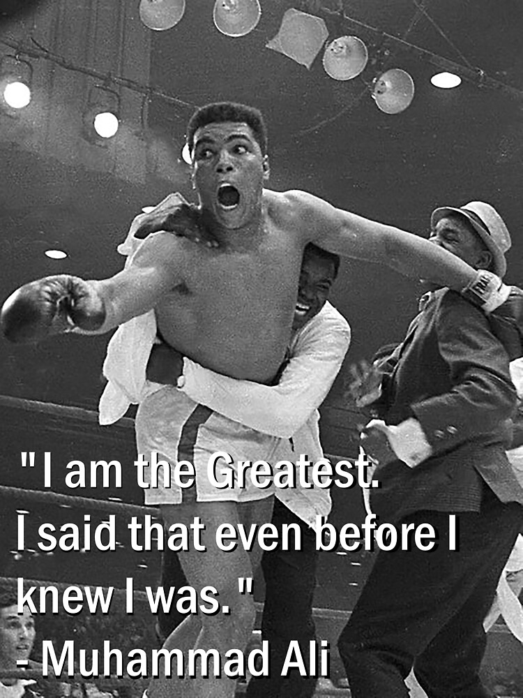 Muhammad Ali Mens Hoodie Sweatshirt Boxing Rocky Balboa Mike Tyson Cassius Clay