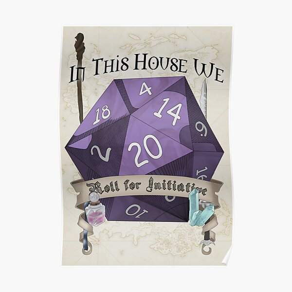 Roll for Initiative Poster