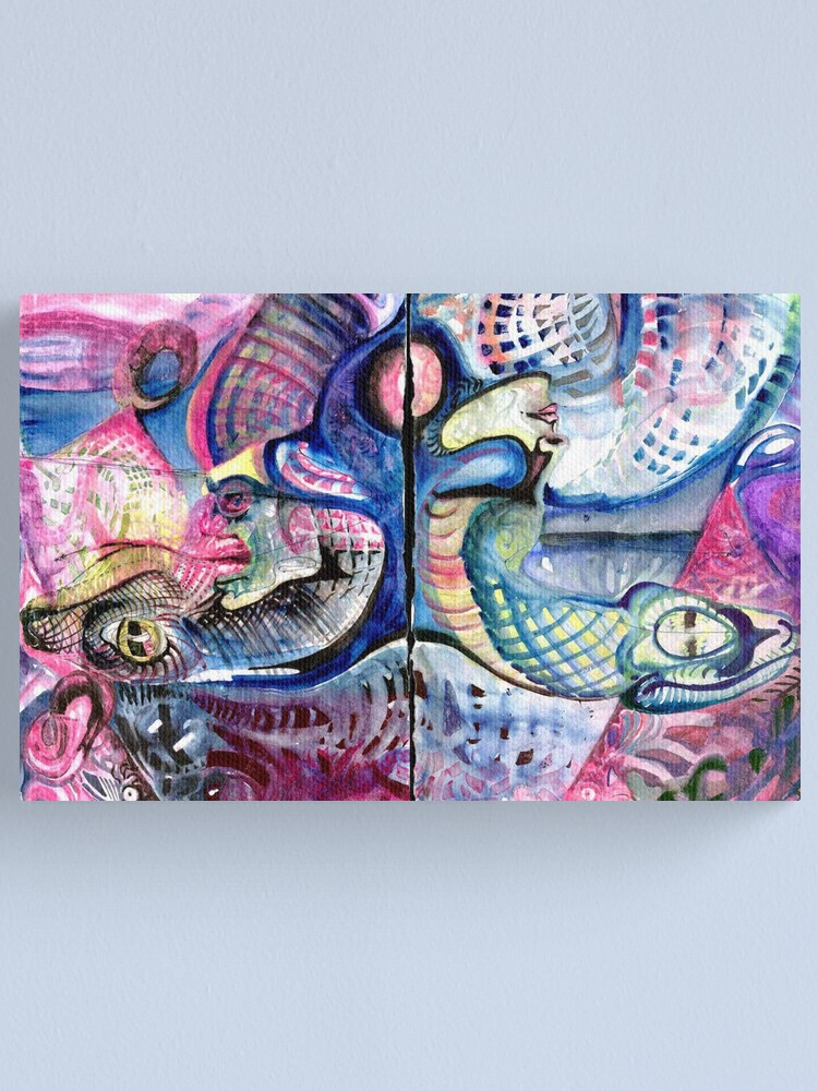 Alternate view of Sign of Typhon and Apophis Canvas Print