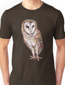 Barn owl drawing Unisex T-Shirt