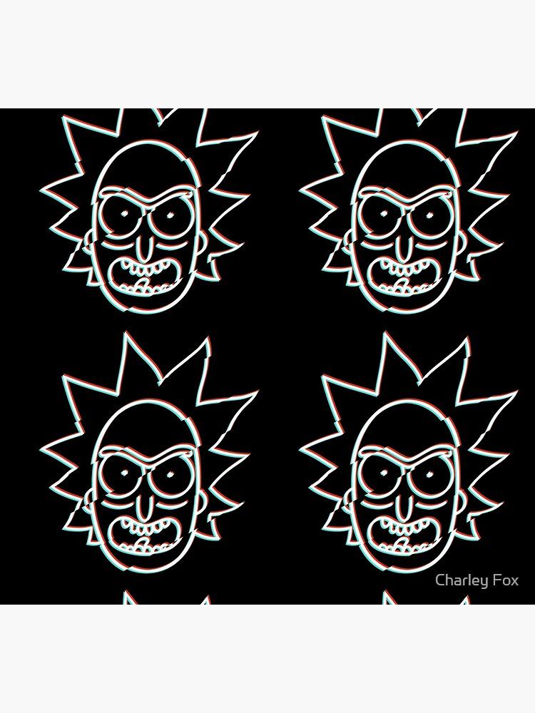 Glitchy Rick by CharleyFox
