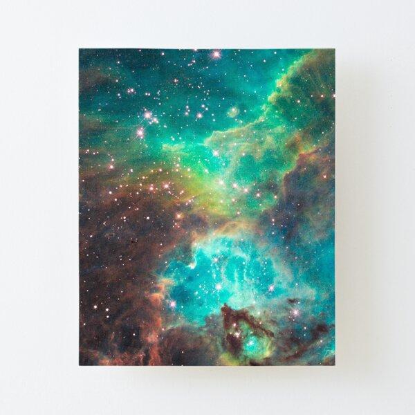 Télescope Hubble-nouvelle vue des piliers de création de l/'Espace Poster Print