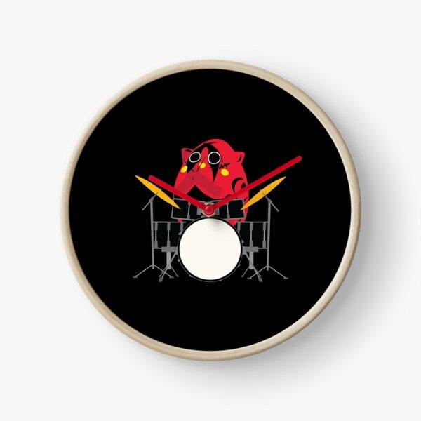 Nyango Star Mascot Drummer Clock