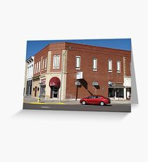 Abilene, Kansas - 2nd and Broadway Greeting Card