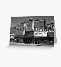 Alpena, Michigan - State Theater Greeting Card