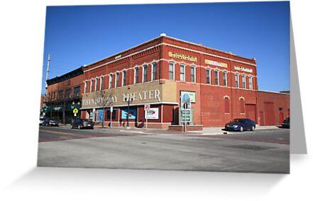 Alpena, Michigan - Thunder Bay Theater by Frank Romeo