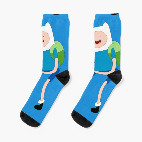 Finn and Scarlet! Socks