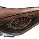 Ideale racing saddle by coloriscausa